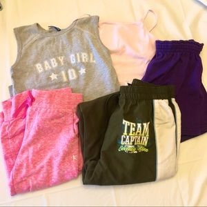 Other - Multi Brand Girl's Athletic Wear Sizes S and M